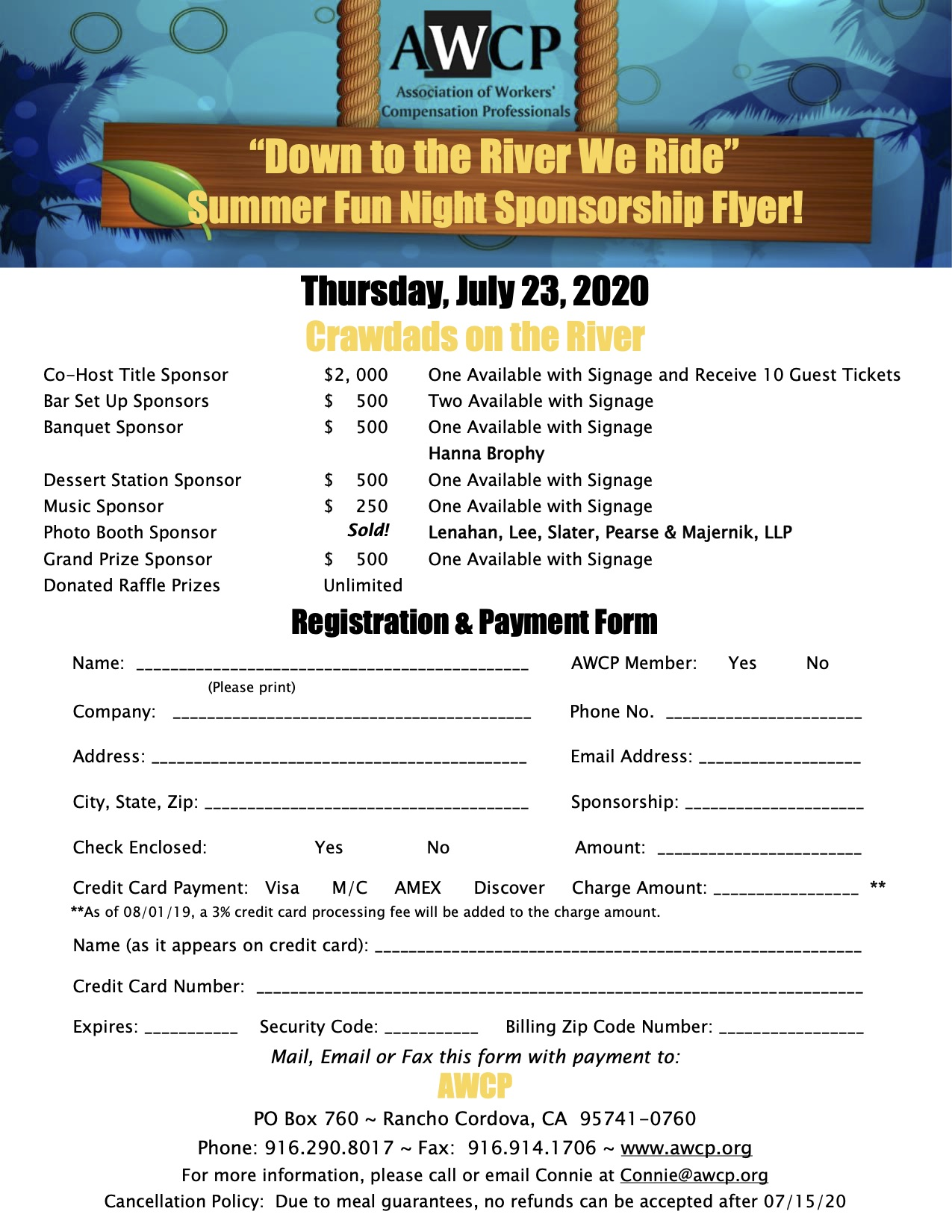 AWCP Summer Fun on the River - 2020-2-3